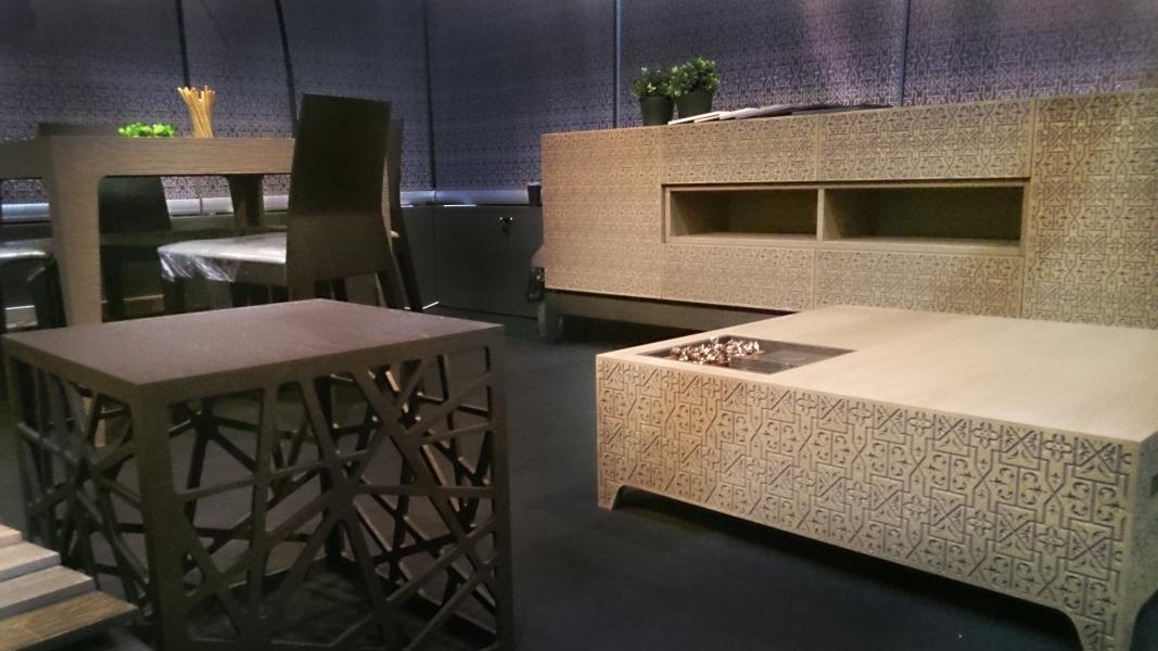 Uab lino baldai participated in international for Furniture in riga